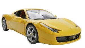 Радиоуправляемая игрушка Rastar Ferrari 458 Italia (47300) Yellow