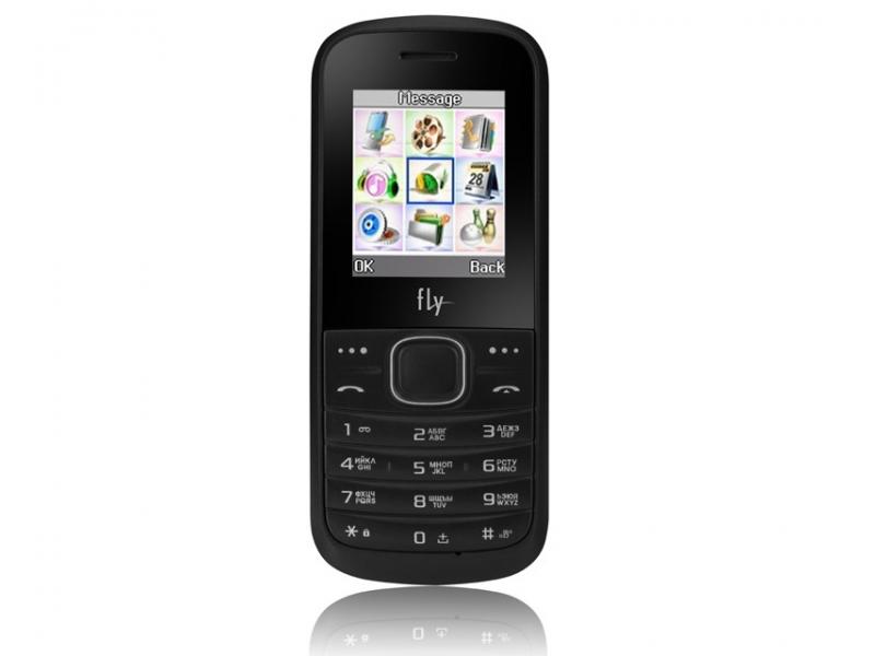 Мобильный телефон Fly DS103D Black