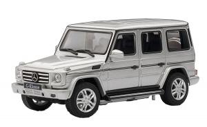Радиоуправляемая игрушка Rastar Mercedes-Benz G55 (30400) silver