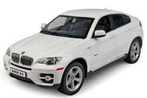 Радиоуправляемая игрушка Rastar BMW X6 White