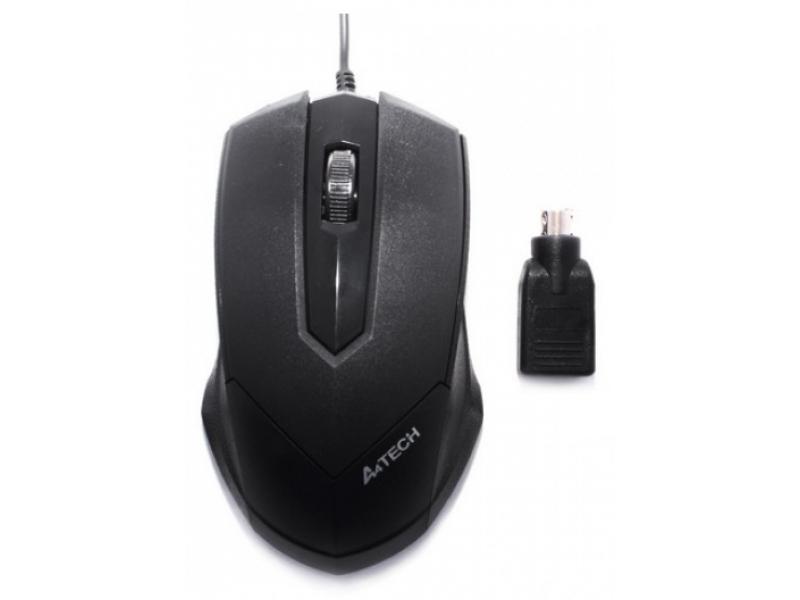 Мышь A4tech M-19 Black
