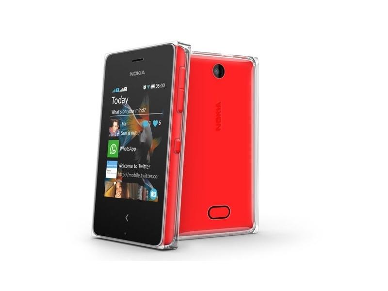 Смартфон Nokia Asha 503 Red