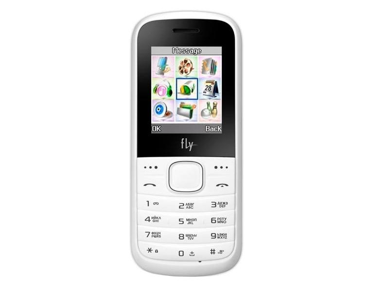 Мобильный телефон Fly DS103D White