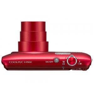 Цифровой фотоаппарат Nikon Coolpix S3500 Red