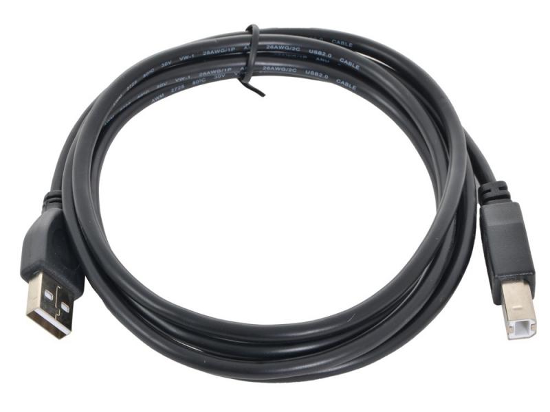Кабель Gembird CC-USB2-AMBM-6 Black