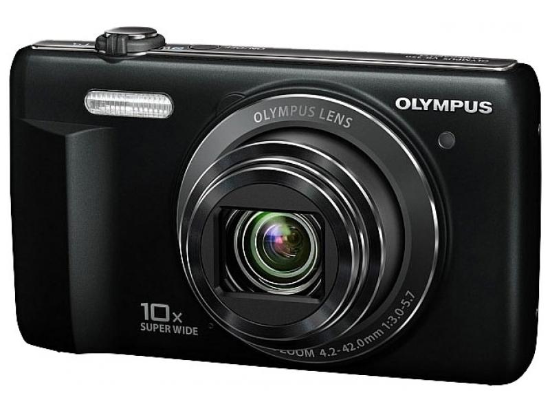 Цифровой фотоаппарат Olympus VR-350 Black+Nokia 1280