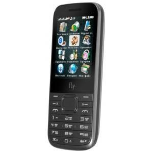 Мобильный телефон Fly TS107 Silver