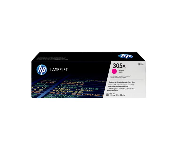 Картридж HP CE413A Magenta Retech