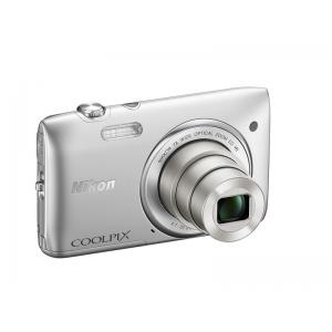 Цифровой фотоаппарат Nikon Coolpix S3500 Silver+Чехол