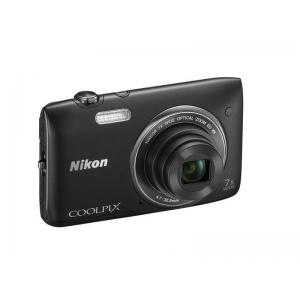 Цифровой фотоаппарат Nikon Coolpix S3500 Black+Чехол