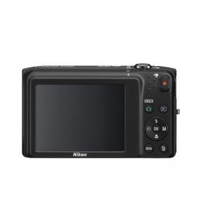 Цифровой фотоаппарат Nikon Coolpix S3400 Black+4Gb