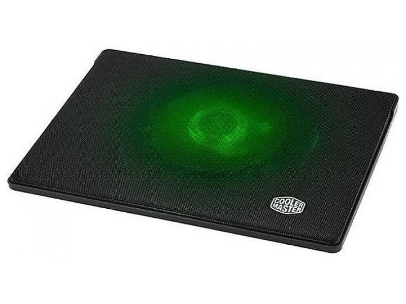 Подставка охлаждения для ноутбука Cooler Master Notepal I300 (R9-NBC-300L-GP) Green Light