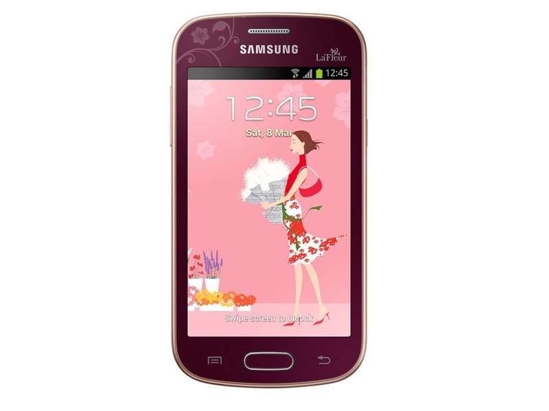Смартфон Samsung Trend (GT-S7390MRZSKZ) La Fleur