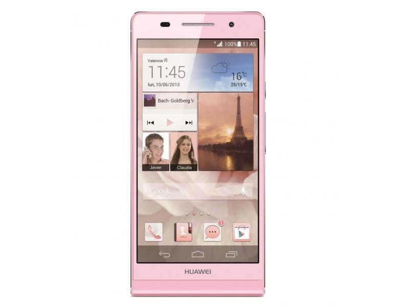 Смартфон Huawei Ascend P6 Pink