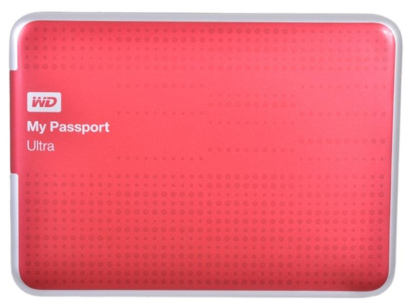 Внешний жесткий диск WD (WDBBUZ0020BRD-EEUE) Red