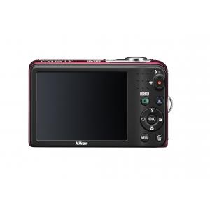 Цифровой фотоаппарат Nikon Coolpix L30 Red