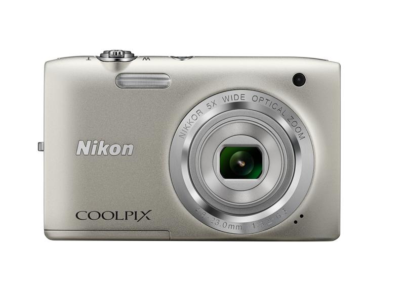 Цифровой фотоаппарат Nikon Coolpix S2800 Silver