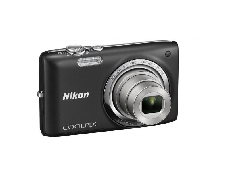 Цифровой фотоаппарат Nikon Coolpix S2800 Black
