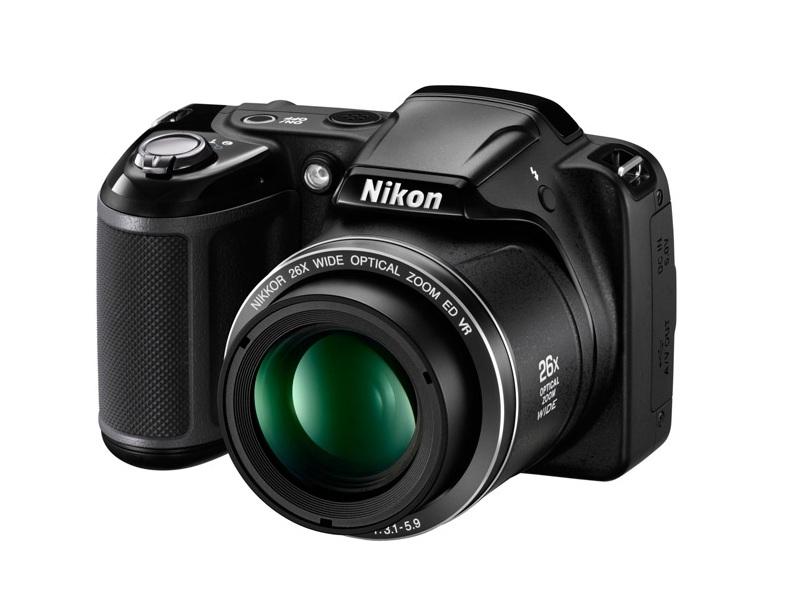 Цифровой фотоаппарат Nikon Coolpix L330 Black