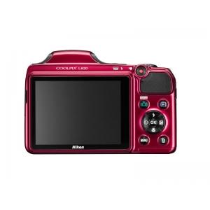 Цифровой фотоаппарат Nikon Coolpix L820 Red+4Gb