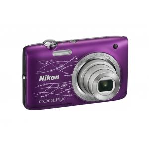 Цифровой фотоаппарат Nikon Coolpix S2800 Purple Lineart