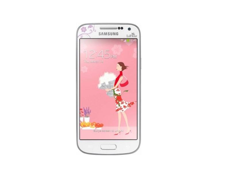 Смартфон Samsung Galaxy S IV Mini (GT-I9192ZWZSKZ) La Fleur White