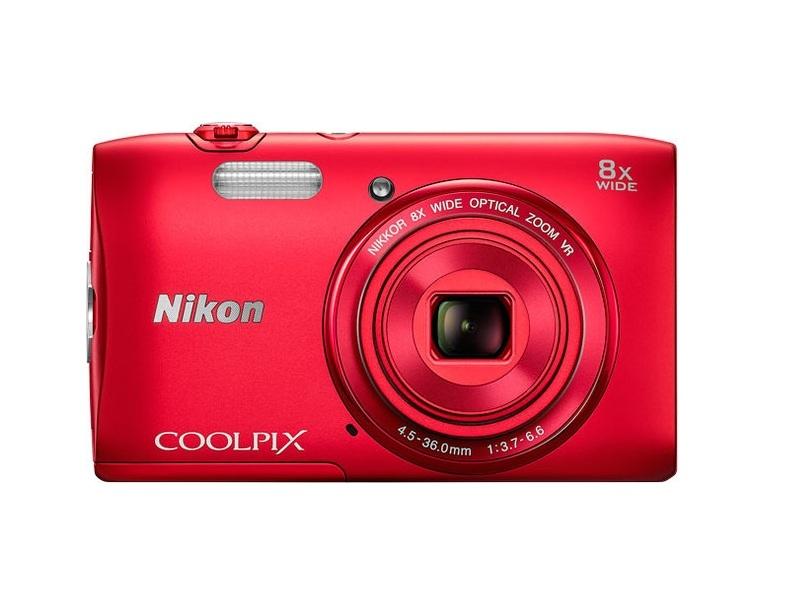 Цифровой фотоаппарат Nikon Coolpx S3600 Red