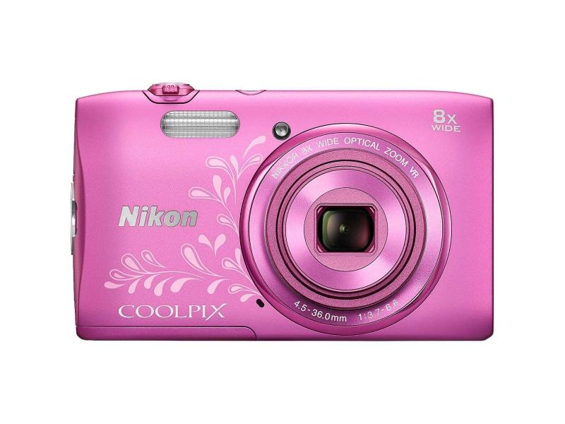 Цифровой фотоаппарат Nikon Coolpix S3600 Pink Lineart