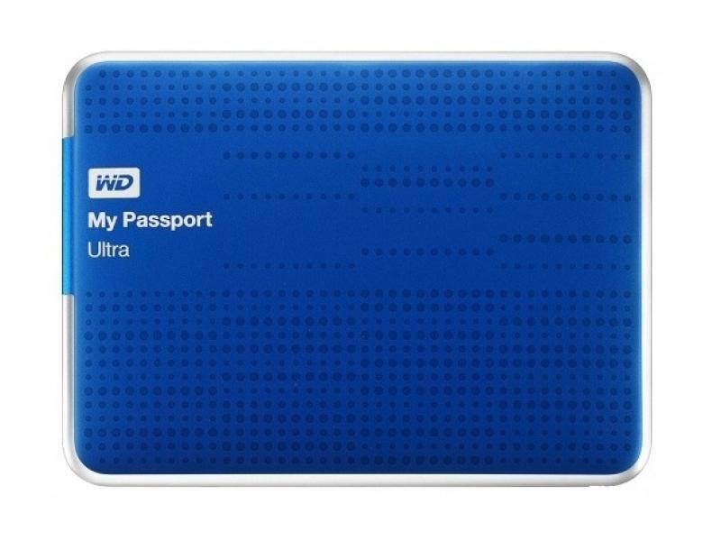 Внешний жесткий диск Westerndigital WDBJNZ0010BBL-EEUE Blue