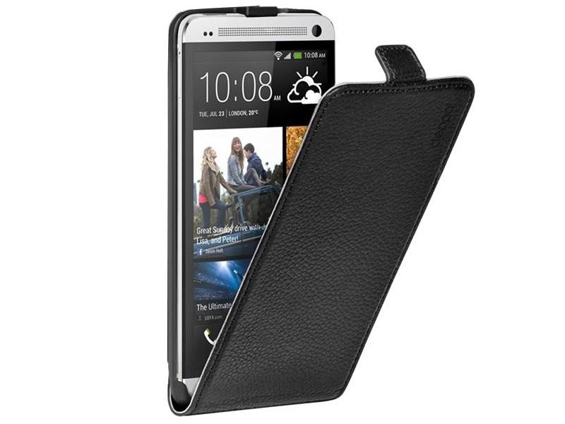 Чехол для мобильного телефона Deppa Flip Cover+Защитная Пленка Black