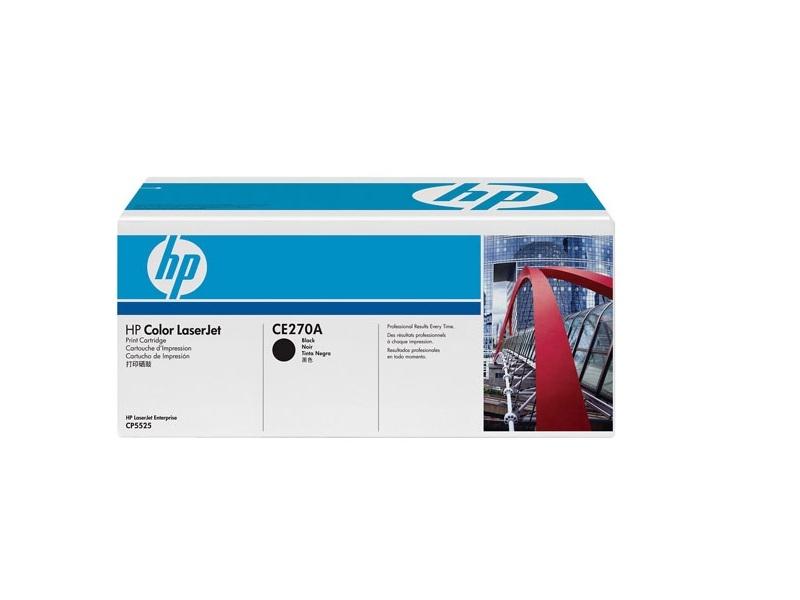Картридж HP-LJ CP5525 CE270A Black