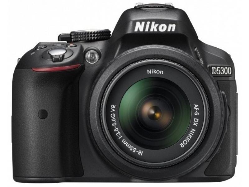 Зеркальный фотоаппарат Nikon D5300 18-105 VR Black
