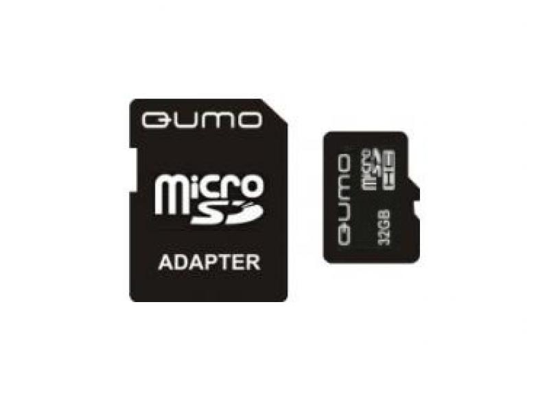 Карта памяти Qumo QM32GMICSDHC10