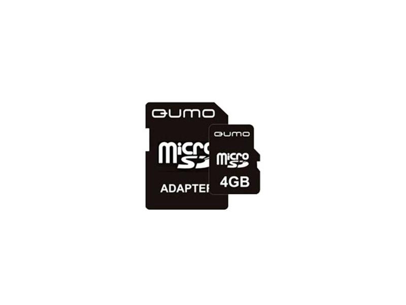 Карта памяти Qumo (QM4GMICSDHC4) Class 4