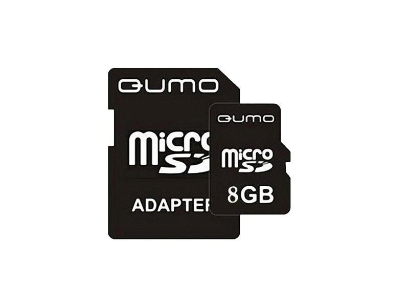 Карта памяти Qumo QM8GMICSDHC4