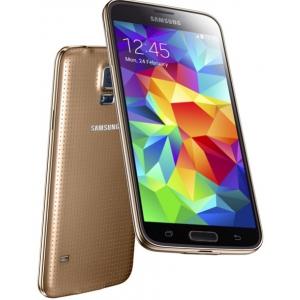 Смартфон Samsung Galaxy S5 (SM-G900FZDASKZ) Gold