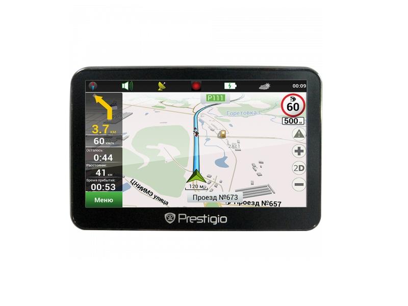 GPS навигатор Prestigio Geovision 5300 (PGPS5300CIS04GBNV)