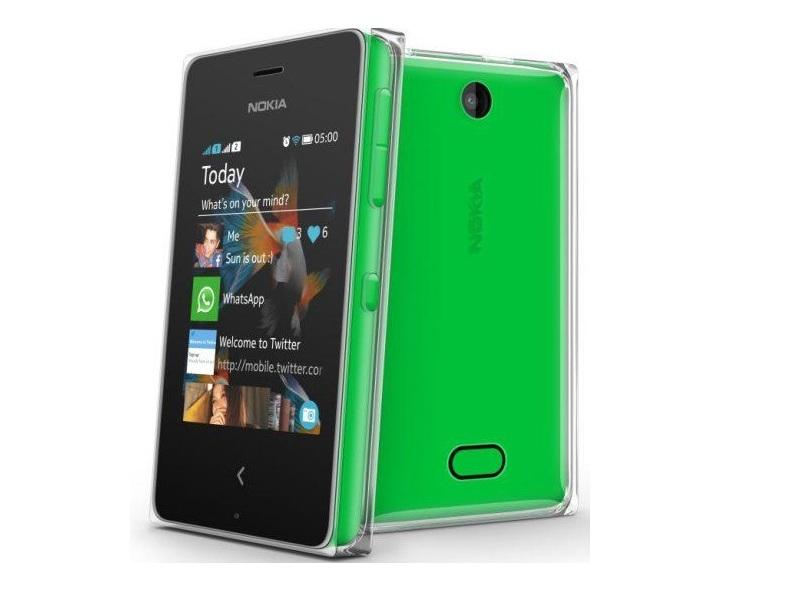 Смартфон Nokia Asha 500 Green