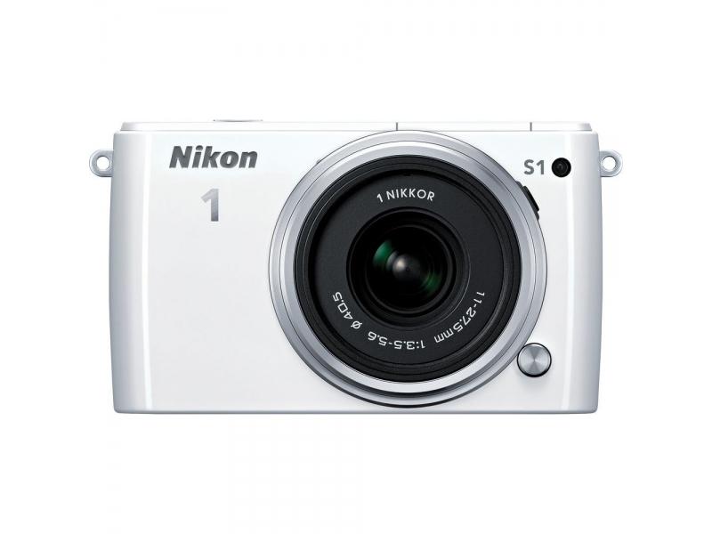Цифровой фотоаппарат Nikon 1 S 1 White