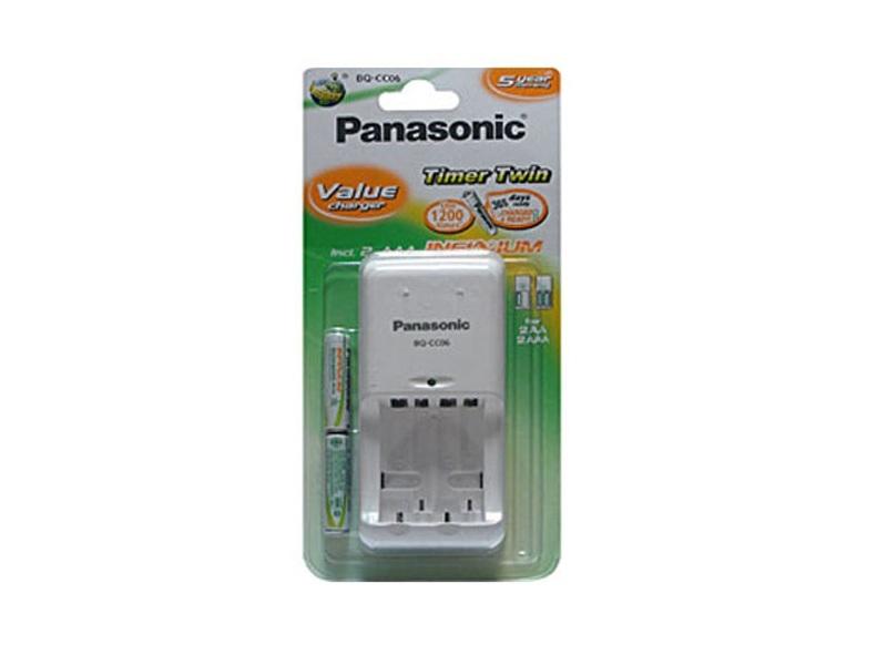 Зарядное устройство Panasonic BQ-CC06E/1KA+2P61000