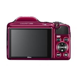 Цифровой фотоаппарат Nikon Coolpix L830 Red