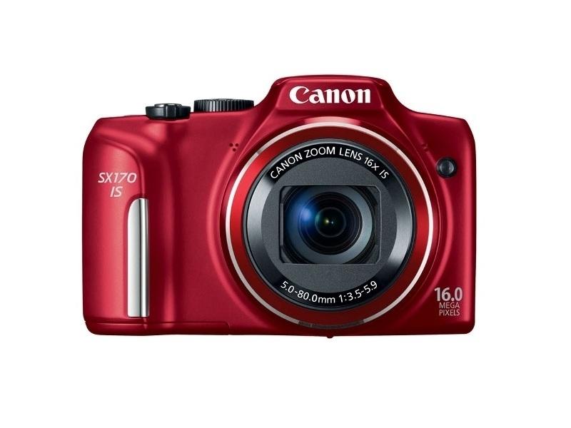 Цифровой фотоаппарат Canon PowerShot SX 170 IS Red
