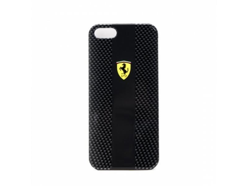 Чехол для мобильного телефона CG-Mobile Ferrari Carbon Hardcase FECBP5BL Black