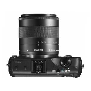 Цифровой фотоаппарат Canon EOS M 18-55 IS Lens Kit Black
