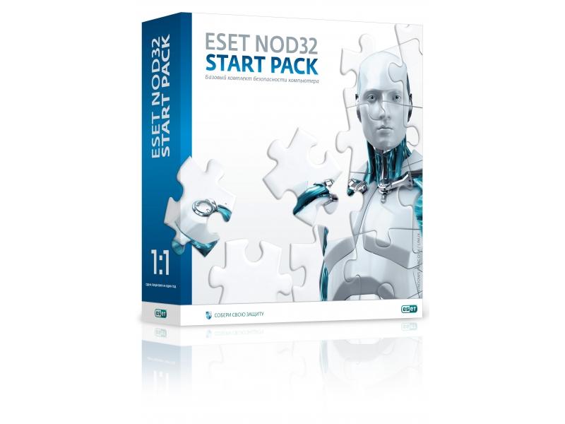 Антивирус NOD32 Start Pack