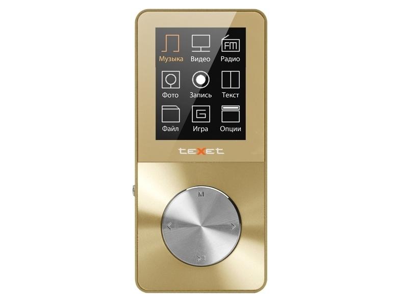 MP3 плеер Texet T-60 Gold