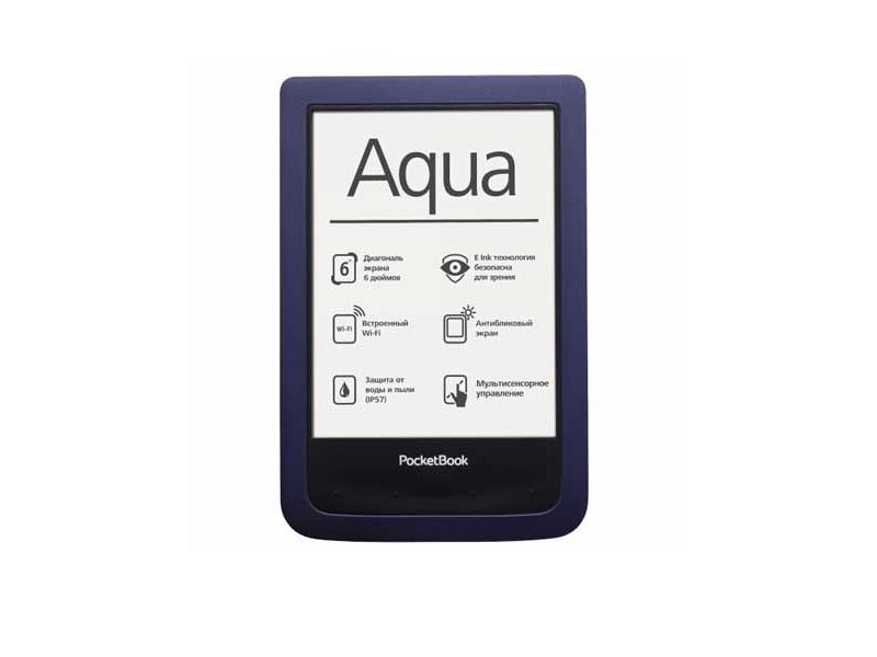 Электронная книга Pocketbook Basic 640 Aqua Dark Blue