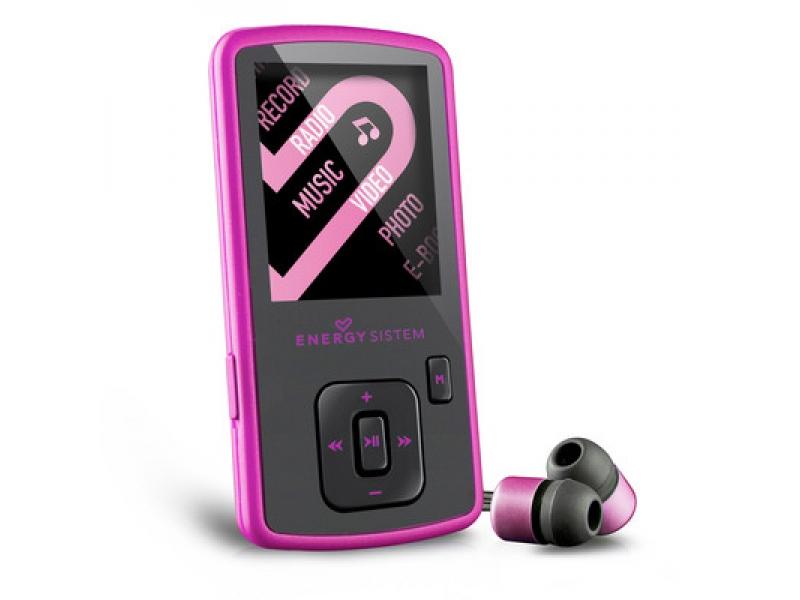 MP4 плеер Energy Sistem Slim 3 Pink Glow