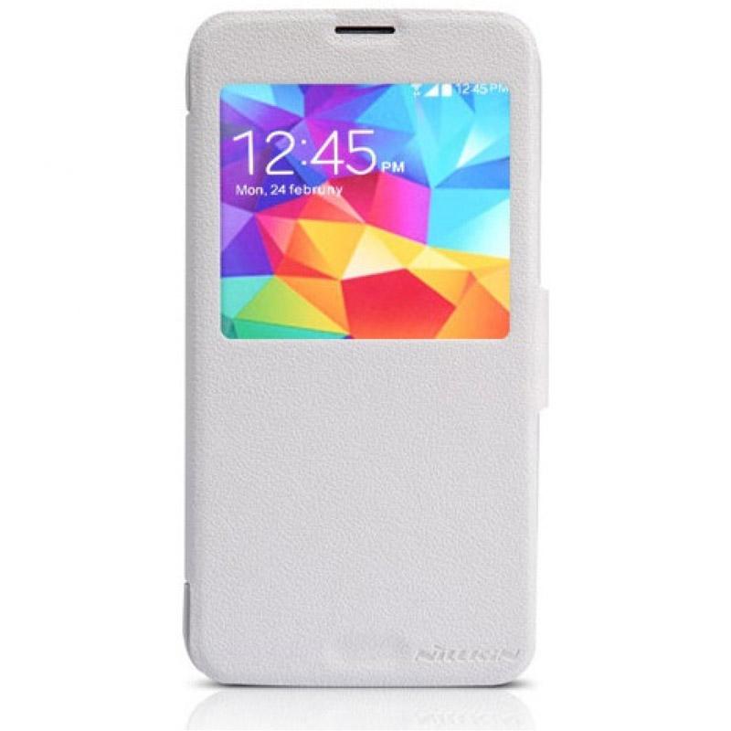 Чехол для мобильного телефона Nillkin Fresh Series Leather Case NLK-5367 Для Samsung Galaxy S5 White