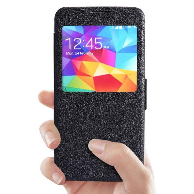 Чехол для мобильного телефона Nillkin Fresh Series Leather Case LK-5366 Для Samsung Galaxy S5 Black